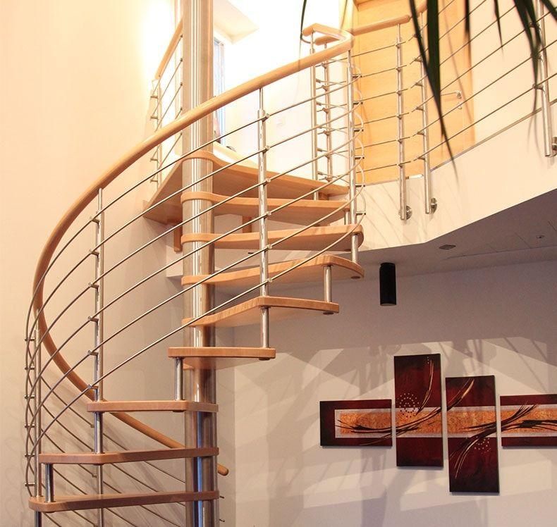 spindeltreppe von fhs treppen treppenhersteller f r fachkunden. Black Bedroom Furniture Sets. Home Design Ideas